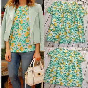 Adorable ELLE lemon blouse